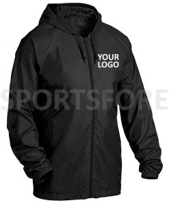 Mens Pullover Windbreaker Jacket