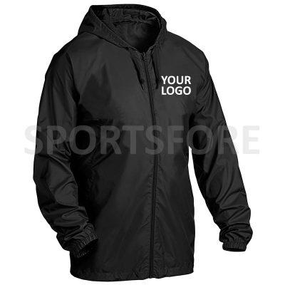 Mens Pullover Windbreaker Jacket