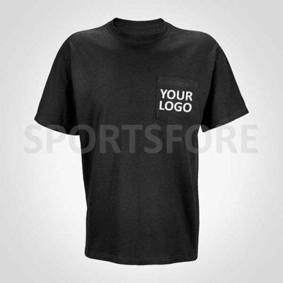 printed pocket t shirts