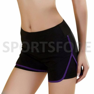 Women breathable quick dry casual summer fitness workout shorts