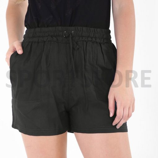 Womens short length shorts with pockets