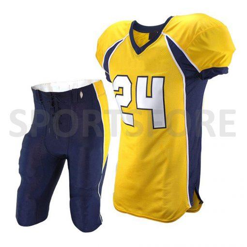 custom design sublimation american football uniforms