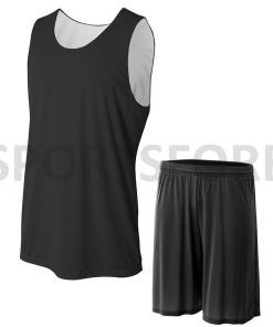 Custom reversible basketball jersey uniform set Sportsfore