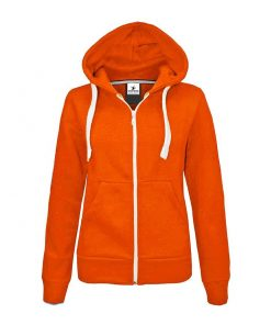 Kids Unisex Plain Blank Fleece Zip up Long Sleeve Hoodies Jacket Sportsfore