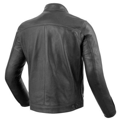 Mens Fashion Top Quality Genuine Cowhide Leather Jacket Sportsfore
