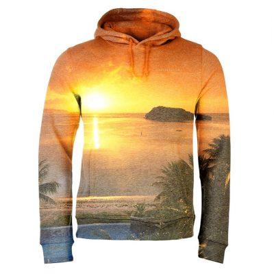 Men's tie dye custom 3d full dye sublimation print hoodies & sweatshirts Sportsfore