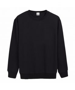 New Fashion Trendy Womens Plain Crewneck Fleece Sweatshirts Sportsfore