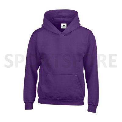 Kids Girls Plain Blank Fleece Hoodies Sweatshirts Sportsfore