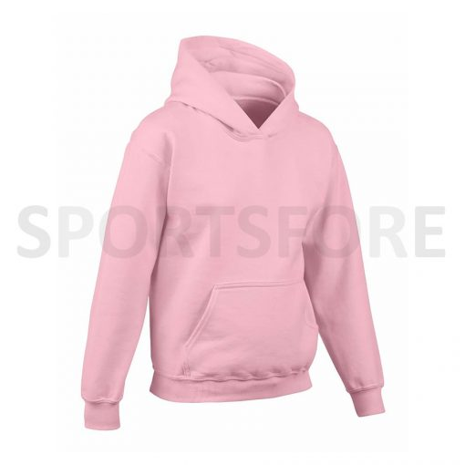 Kids Girls Plain Blank Fleece Hoodies Sweatshirts Sportsfore