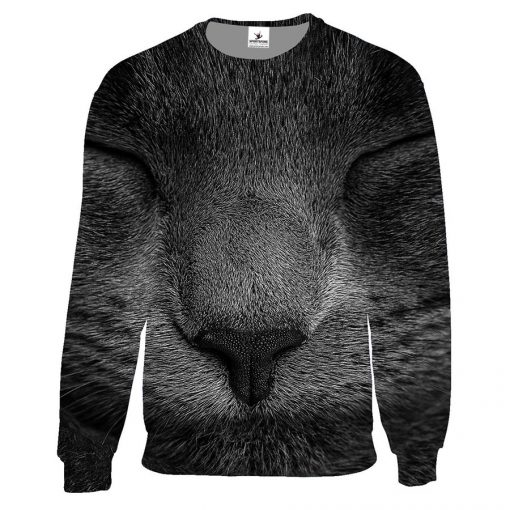 Custom Unisex 3D Graphic Crew Neck Sweatshirt Without Hood Sportsfore