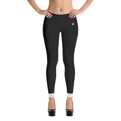 Woman Latest Fashion Trend Fancy Gym Fitness Yoga Wear Tights Leggings Sportsfore