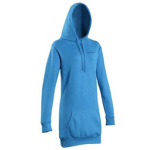 Women Pullover Oversized Long Sleeve Plain Blank Longline Hoodies Sweatshirts Sportsfore