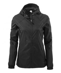 Women Waterproof Blank Rain Jacket Sportsfore
