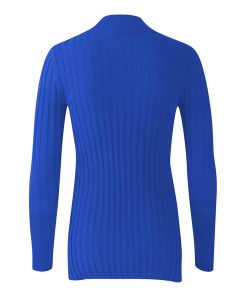 Women Custom Skinny Fit Plain Knitted Turtleneck Jumper Sportsfore