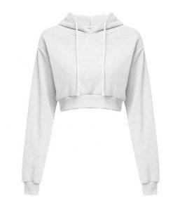 Women's Fashion Trendy Crop Top Hoodies Sportsfore