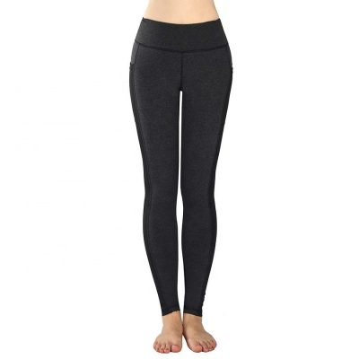 Women's Sports Pants Yoga Tights Workout Running High Waist Leggings with Pocket Sportsfore