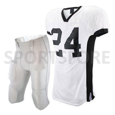 Wholesale cheap custom design sublimation american football uniforms Sportsfore