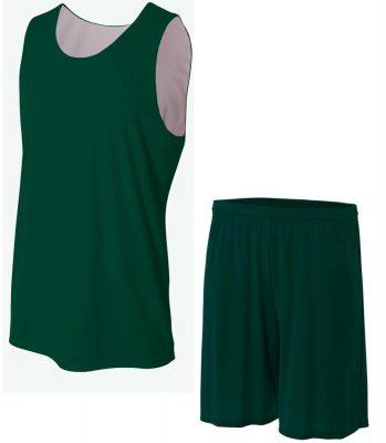 Cheap custom reversible blank plain basketball jerseys uniforms Sportsfore