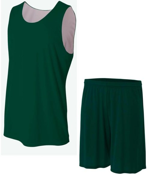 Cheap custom reversible blank plain basketball jerseys uniforms Sportsfore