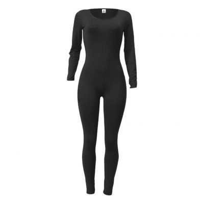 Womens Long Sleeve Romper Jumpsuit Bodycon Slim Fit Sports Fitness Yoga Bodysuit Sportsfore