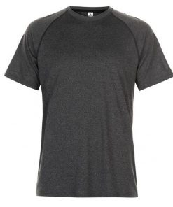 Men Technical Training Plain Blank T-shirt Sportsfore