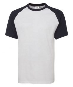 Men Short Sleeve Raglan Gym T shirt Sportsfore