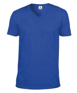 Custom Men V Neck Short Sleeve T-shirt Sportsfore