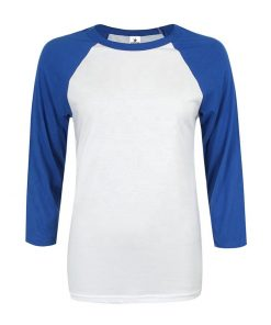 Wholesale Women Raglan 3/4 Sleeve Baseball T shirt Sportsfore