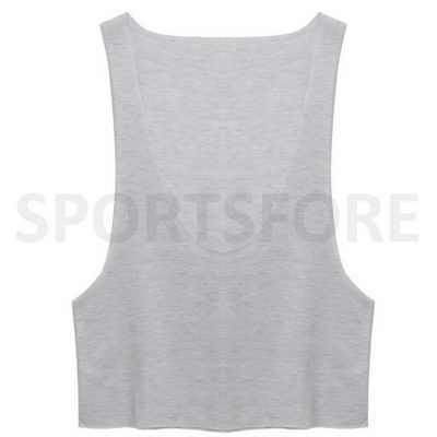 Women's Loose Deep O Neck Sleeveless Low Cut Cleavage Sexy Tank Tops for Summer Sportsfore