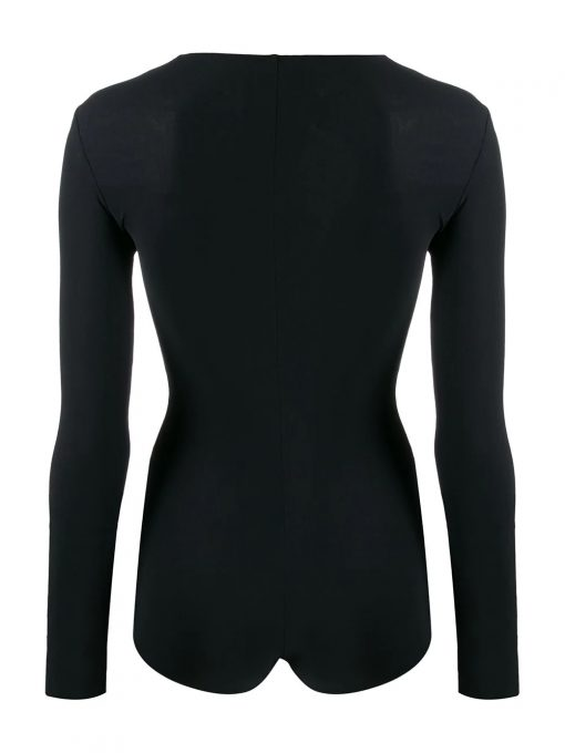Long Sleeve Spandex Tops Bodysuits for Women Sportsfore