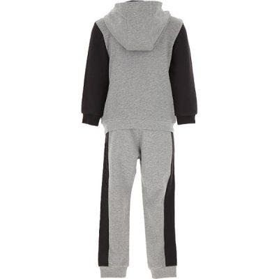 Custom Kids Boys Girls Plain Blank Fleece Hooded Tracksuits Sets for Children Sportsfore