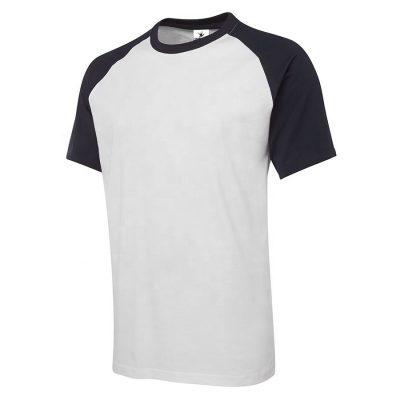 Men Short Sleeve Raglan Gym T shirt Sportsfore