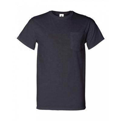 Men Custom Crew Neck Short Sleeve Pocket T shirts Sportsfore