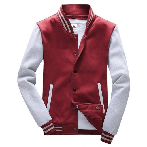 Custom Men Varsity Baseball Team Jackets Sportsfore