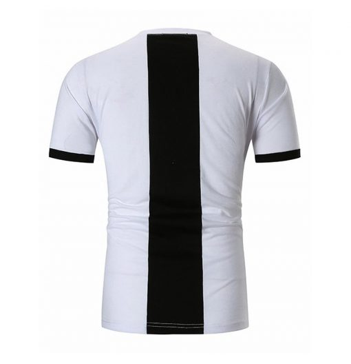 Men's Custom New Casual Fashion Trendy Gym Fitness Short Sleeve White T-shirts Sportsfore