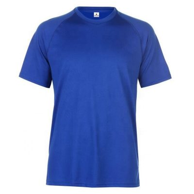 Men Technical Training Plain Blank T-shirt Sportsfore