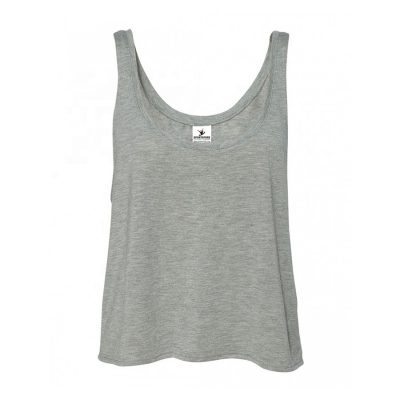 Women's Fashion Trendy Summer Athletic Plain Blank Sleeveless Crop Tank Tops Sportsfore