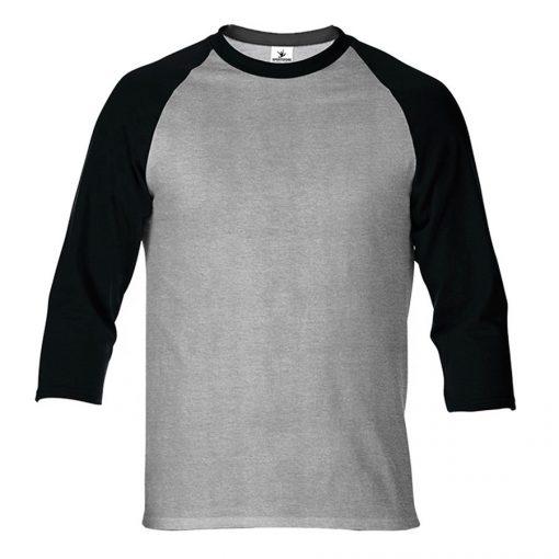 Mens Blank 3/4 Sleeve Raglan T-shirt Sportsfore