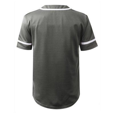 Wholesale Custom Fashion Button Down Baseball Jersey Uniform Sportsfore
