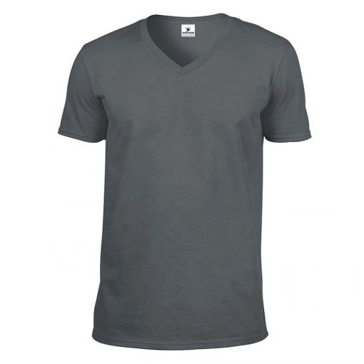 Custom Men V Neck Short Sleeve T-shirt Sportsfore