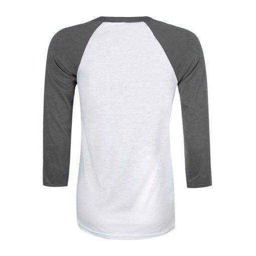Cheap Custom Printing Raglan 3/4 Sleeve Crew Neck Baseball T shirts for Women Sportsfore