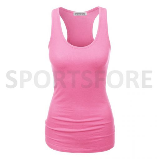 Fashion Fitted Racerback Sports Gym Fitness Tank Tops for Women Sportsfore