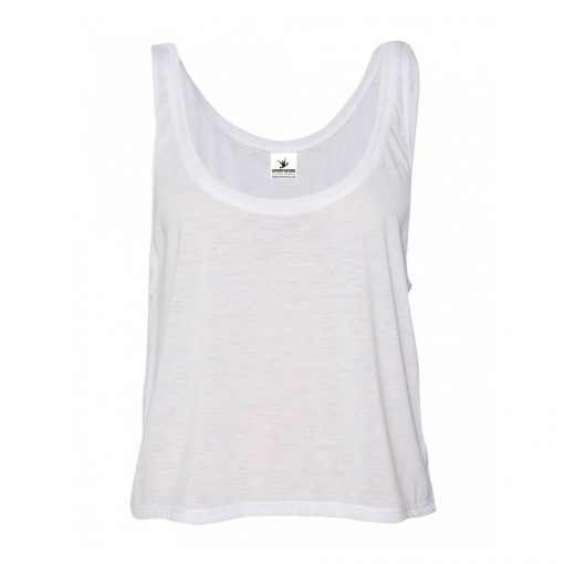 Women's Fashion Trendy Summer Athletic Plain Blank Sleeveless Crop Tank Tops Sportsfore