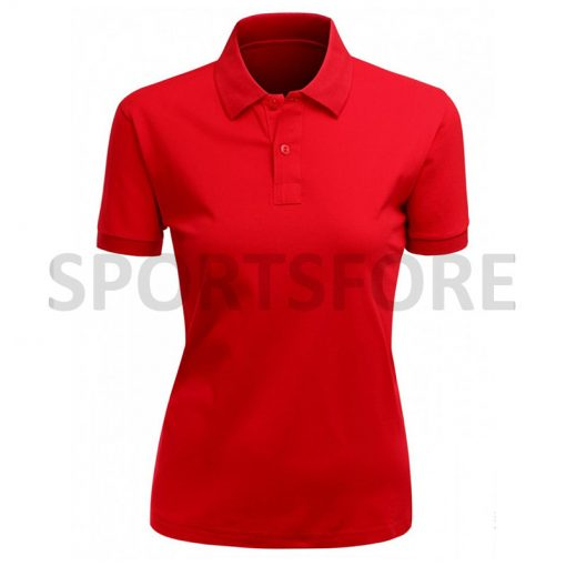 Latest Fashion Dry Fit Short Sleeve Polo Shirts for Women Sportsfore