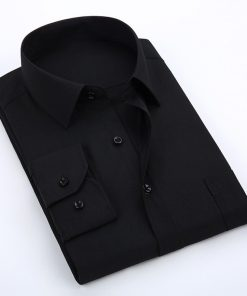 Men Casual Office Long Sleeve Cotton Dress Shirt Sportsfore