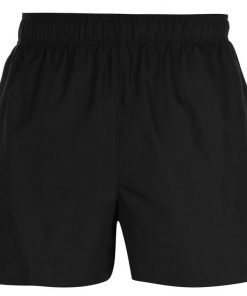 Mens Casual Quick Dry Breathable Swim Beach Black Summer Shorts Sportsfore