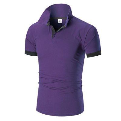 Men's Fashion Custom Dry Fit Short Sleeve Cotton Polo T-shirt Sportsfore