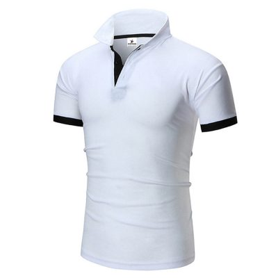 Short Sleeve Cotton Polo T-shirt for Boys Sportsfore