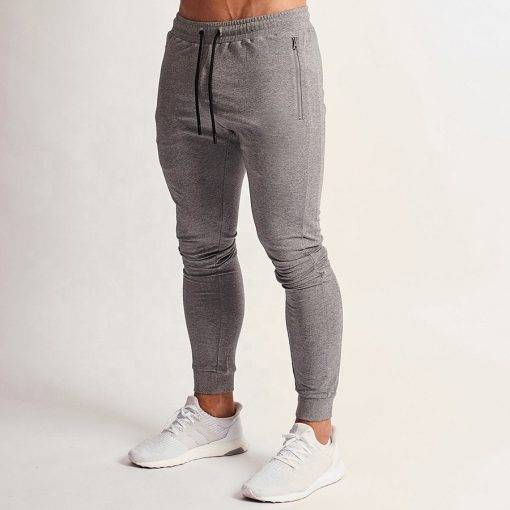 Men's Grey Custom Sweatpants Sportsfore