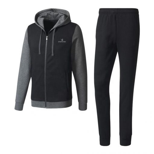 Men's Slim Fit Fleece Tracksuit Sportsfore